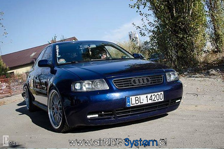 Audi A3 8L mapet TUNING airRIDE System