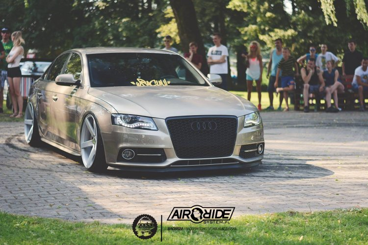 Audi A4 B8 Airride System Mapet Tuning Group