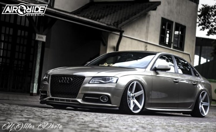 Audi A4 B8 - airRIDE-System - MAPET-TUNING GROUP