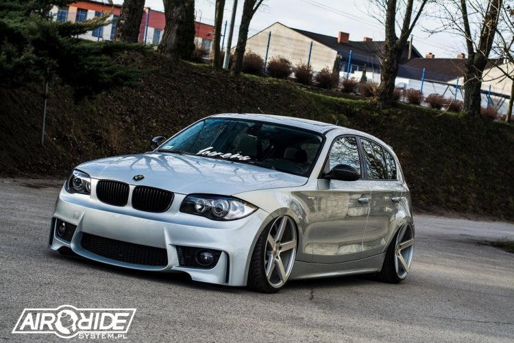 BMW 1 E87 - airRIDE-System - MAPET-TUNING GROUP