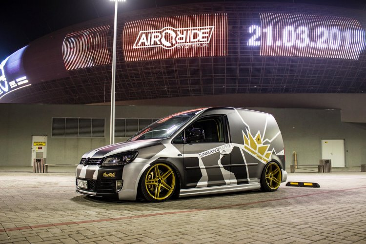 Vw Caddy Airride System Mapet Tuning Group