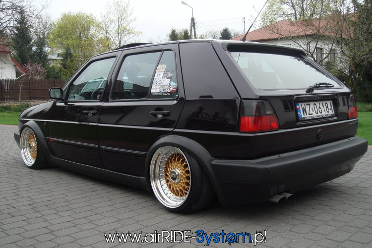 vw golf 2 airride system mapet tuning group. Black Bedroom Furniture Sets. Home Design Ideas